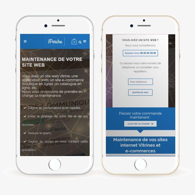 Creation site internet responsive (adaptable à tous les appareils)