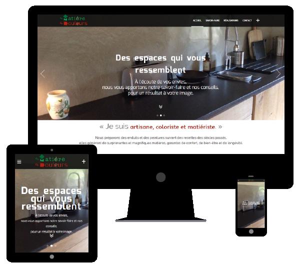 Création Site Web responsive et e-commerce pour artisan en Eure et Loir