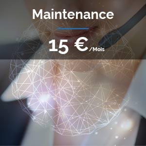 Pack Maintenance pour Site Internet Vitrines ou e-commerce : 15 euros / mois